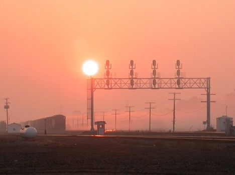 CN's Tunnel Yard at Sunrise [Dan Meinhard]
